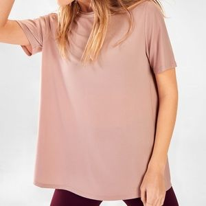 NWT Fabletics Vivienne Crossback Tee Size Large